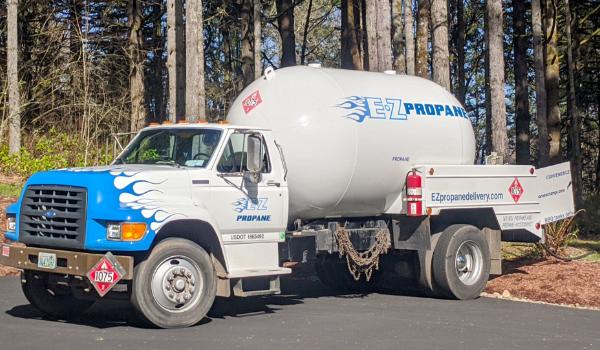 EZ Propane Truck